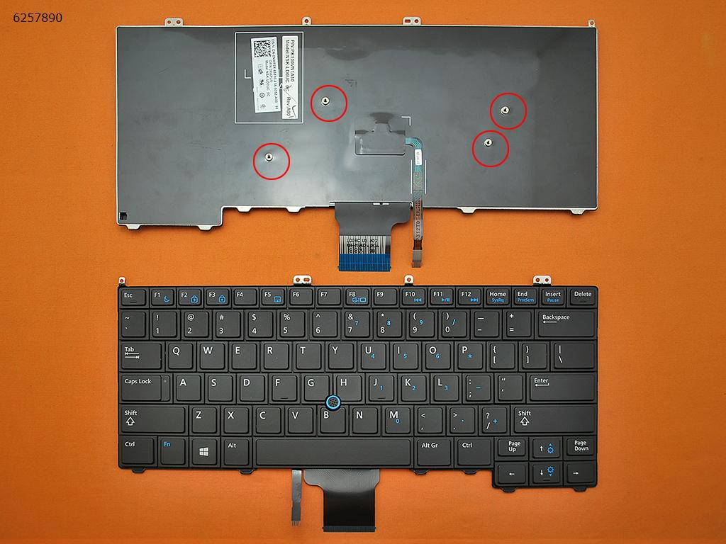 DELL PK130VM1A00 Keyboard