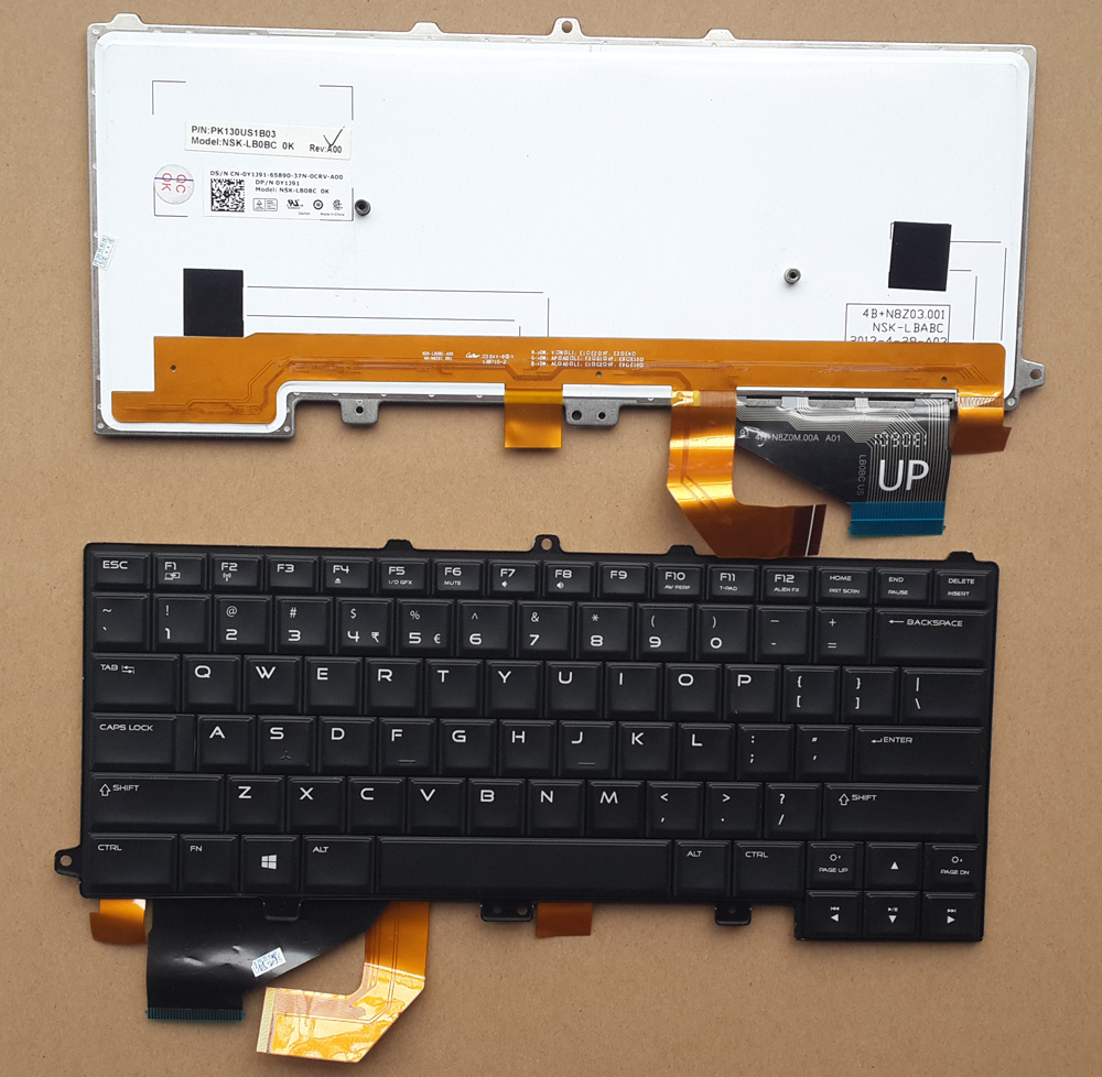 DELL 0Y1J91 Keyboard