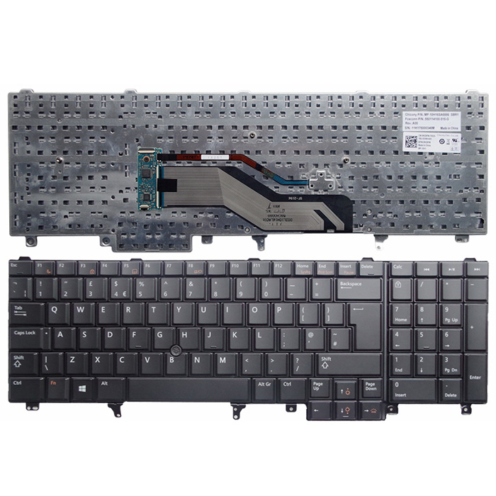 Dell Latitude E5520 Keyboard