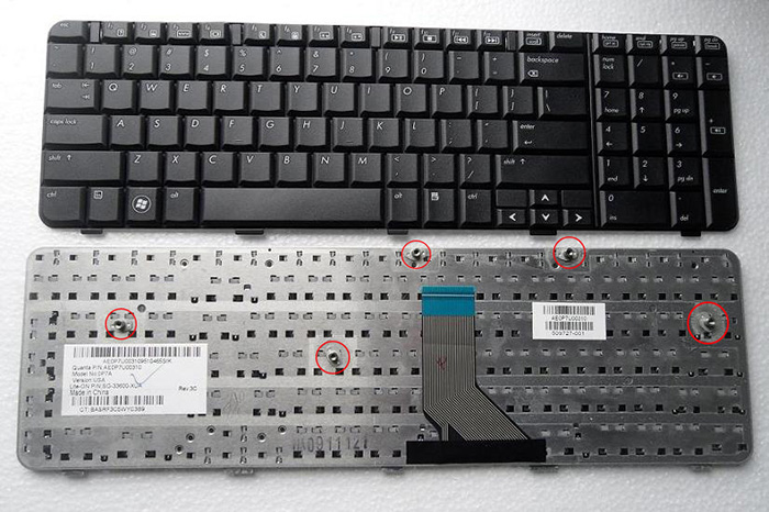 COMPAQ MP-07F16I0-920 Keyboard