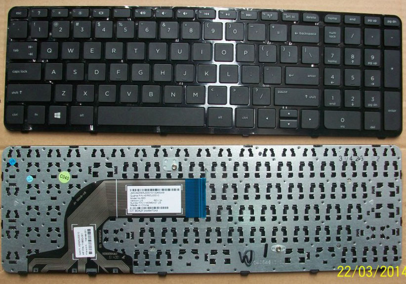 HP Pavilion 15-E Series Keyboard