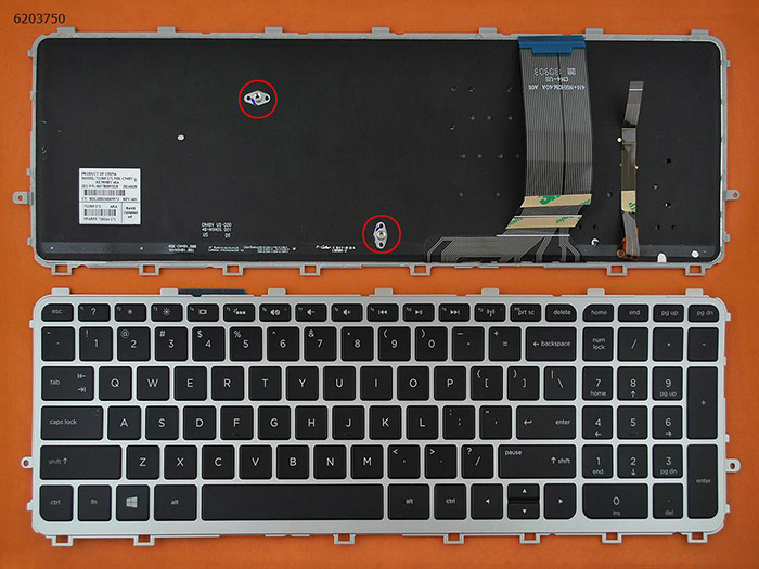 HP ENVY 17-J000 Keyboard