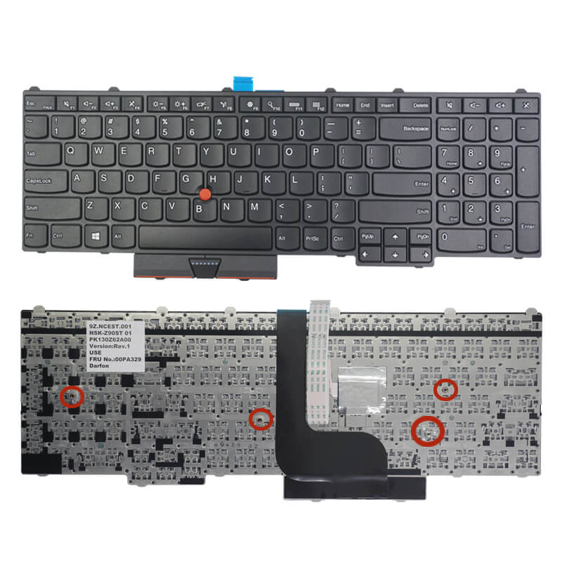 Lenovo thinkpad P50 Keyboard