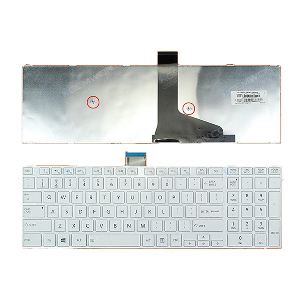 TOSHIBA MP-11B56LA-528A Keyboard