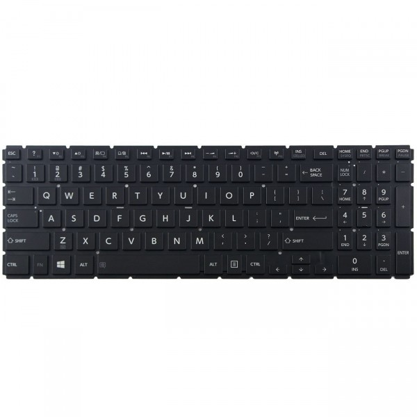 TOSHIBA MP-13R83US-920 Keyboard